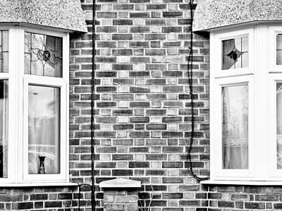 Bay Windows Poster by Tom Gowanlock