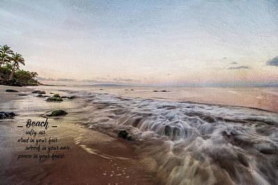 Beach Poster by Ramona Murdock