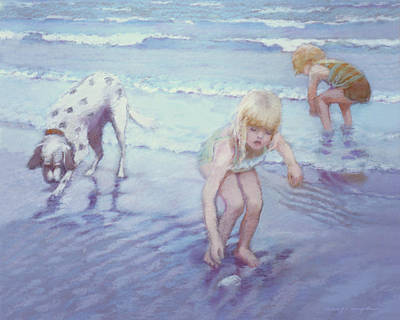 Beach Threesome Poster