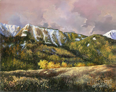 Poster featuring the painting Bear Claw by Lynne Wright