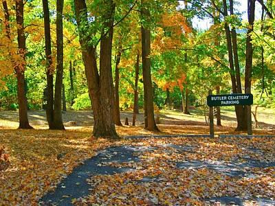 Beautiful Autumn Season Poster by Skyler Tipton