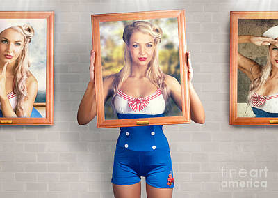 Beauty In The Art Of Picture Perfect Portrait Poster