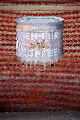 Ben Hur Coffee Poster by Peter Tellone