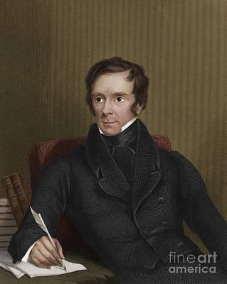 Benjamin Collins Brodie, English Chemist Poster by Maria Platt-Evans