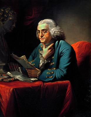 Benjamin Franklin Poster by American Philosophical Society