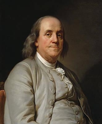 Benjamin Franklin Poster by Mountain Dreams