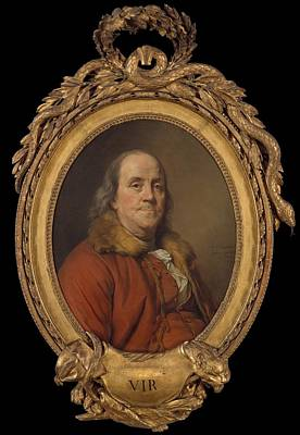 Benjamin Franklin Poster by Joseph Siffred Duplessis