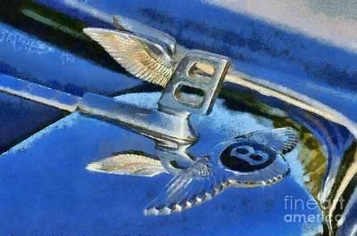 1956 Bentley S1 Poster by George Atsametakis