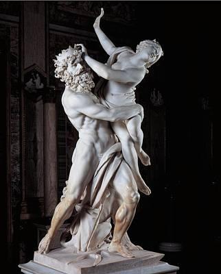 Bernini Gian Lorenzo, The Rape Poster by Everett