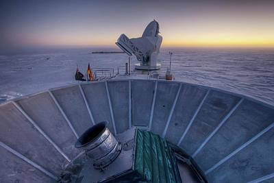 Bicep2 Telescope Poster by Nsf/steffen Richter/harvard University
