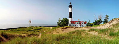 Big Sable Point Lighthouse, Lake Poster