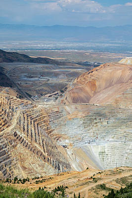 Bingham Canyon Copper Mine Poster