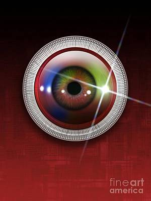 Biometric Eye Scan, Artwork Poster