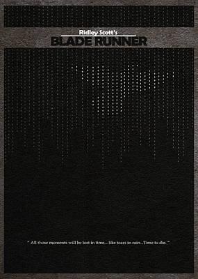 Blade Runner Poster by Ayse Deniz