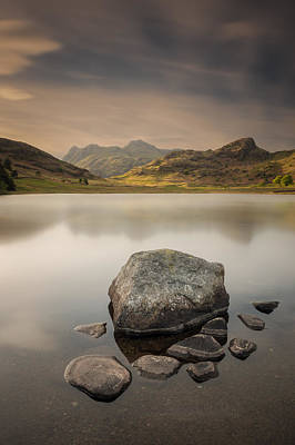Blea Tarn Lake District Poster by Andy Astbury