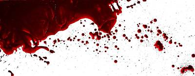 Blood Spatter Series Poster