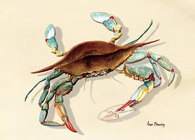 Blue Crab Poster