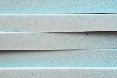Blue Foam Poster by Tom Gowanlock