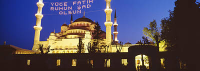 Blue Mosque, Istanbul, Turkey Poster by Panoramic Images
