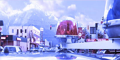 Blue Mountain Haven On Earth Beautiful Snow Season Cool Kool   Pink White Rush Party Engage Chrismas Poster
