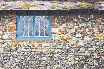 Blue Window Poster by Tom Gowanlock
