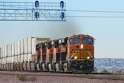 Bnsf 8098 Poster