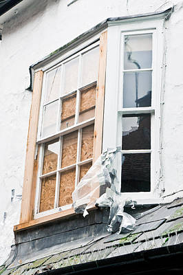 Boarded Up Window Poster