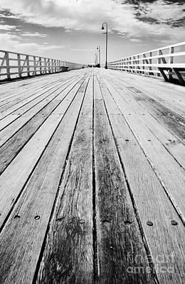Boardwalk Of Distance Poster