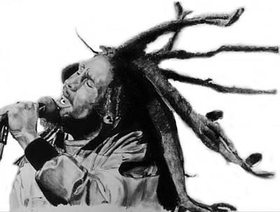 Bob Marley Poster by Aaron Balderas