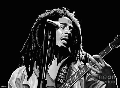 Bob Marley Poster by Meijering Manupix