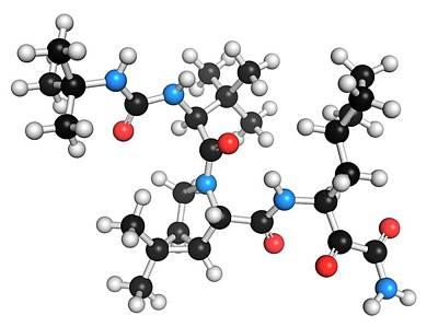 Boceprevir Hepatitis C Virus Drug Poster by Molekuul