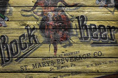 Bock Beer Poster by Joe Hamilton