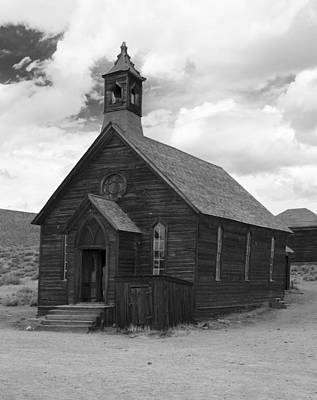 Bodie Church Poster