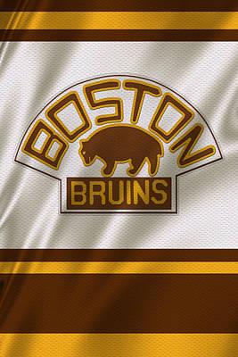 Boston Bruins Uniform Poster