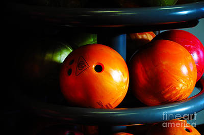 Bowling Balls Poster by Jay Mann