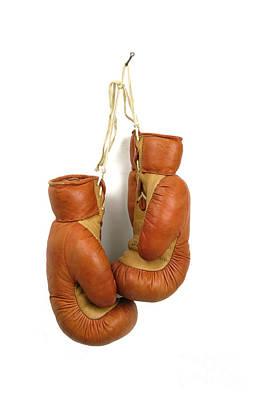 Boxing Gloves Poster by Bernard Jaubert