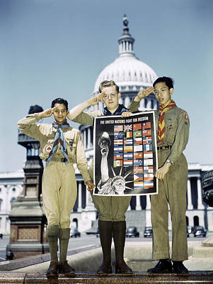 Boy Scouts, 1943 Poster by Granger