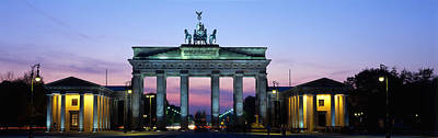 Brandenburg Gate, Berlin, Germany Poster by Panoramic Images