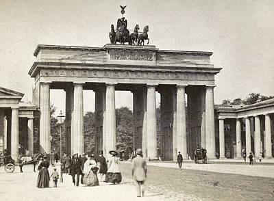 Brandenburg Gate Poster by Granger