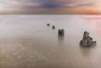 Breakwater Poster by Peter Lakomy