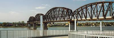 Bridge Across A River, Big Four Bridge Poster by Panoramic Images