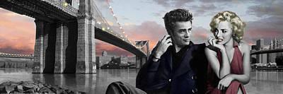 Brooklyn Bridge Poster by Chris Consani