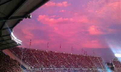 Bryant-denny Painted Sky Poster