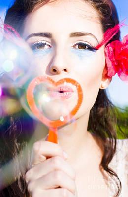 Bubble Kisses Poster