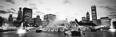 Buckingham Fountain, Grant Park Poster by Panoramic Images