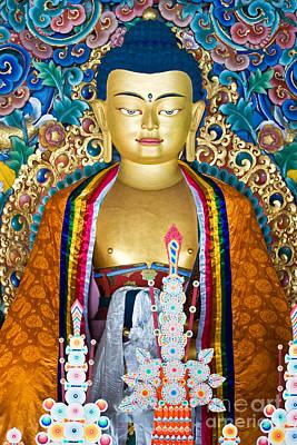 Buddha Poster by Luciano Mortula