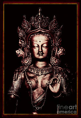 Buddhist Tara Deity Poster by Tim Gainey