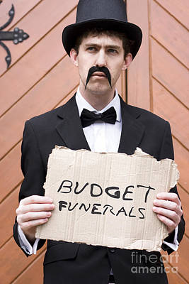 Budget Funerals Poster by Jorgo Photography - Wall Art Gallery