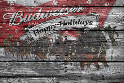 Budweiser Poster by Joe Hamilton