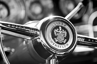Buick Eight Steering Wheel Poster by Jill Reger